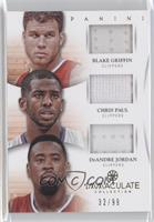 Blake Griffin, Chris Paul, DeAndre Jordan /99