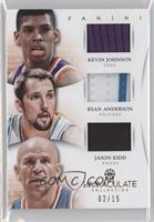 Jason Kidd, Kevin Johnson, Ryan Anderson /15
