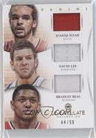 David Lee, Bradley Beal, Joakim Noah /99