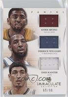 Kyrie Irving, Derrick Williams, Enes Kanter /99