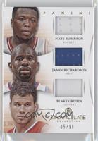 Blake Griffin, Jason Richardson, Nate Robinson /99
