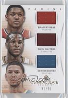 Austin Rivers, Bradley Beal, Dion Waiters /99