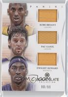 Dwight Howard, Kobe Bryant, Pau Gasol /99