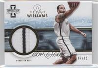 Deron Williams /15