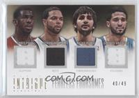 Chris Paul, Deron Williams, Greivis Vasquez, Ricky Rubio /49