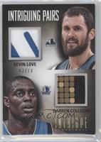 Kevin Love, Darren Collison /10
