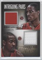 DeMar DeRozan, Terrence Ross /25