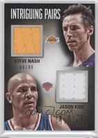 Jason Kidd, Steve Nash /99