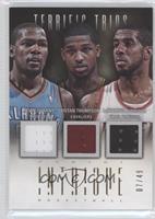 Kevin Durant, LaMarcus Aldridge, Tristan Thompson /49