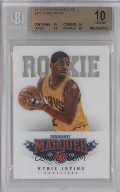 2012-13 Panini Marquee - [Base] #471 - Kyrie Irving [BGS10]