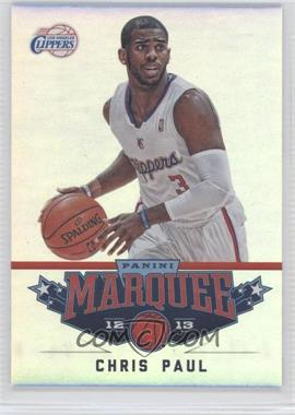 2012-13 Panini Marquee - [Base] #5 - Chris Paul