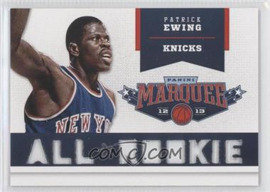 2012-13 Panini Marquee All-Rookie Team Laser Cut #6 - Patrick Ewing