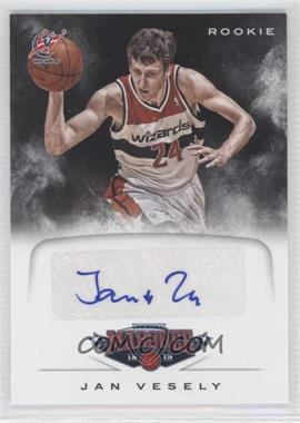 2012-13 Panini Marquee Rookie Signatures #83 - Jan Vesely