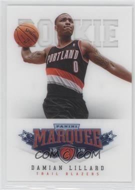 2012-13 Panini Marquee #461 - Damian Lillard