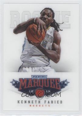 2012-13 Panini Marquee #475 - Kenneth Faried