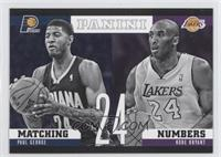 Paul George, Kobe Bryant