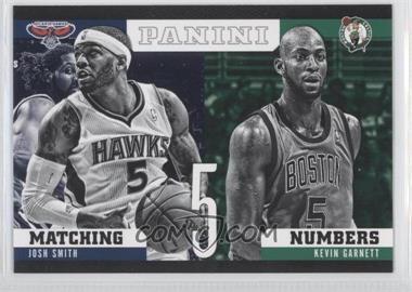 2012-13 Panini Matching Numbers #24 - Josh Smith, Kevin Garnett