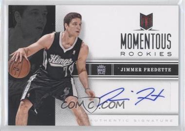2012-13 Panini Momentum - Momentous Rookies Autographs #2 - Jimmer Fredette