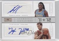 Kenneth Faried, Tyler Zeller /49