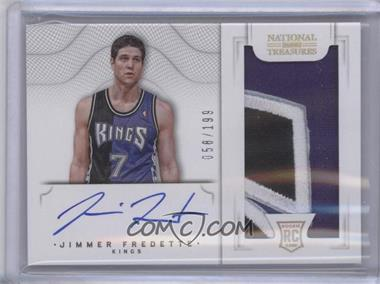 2012-13 Panini National Treasures - [Base] #109 - Group I Rookies 2011 Rookies - Jimmer Fredette /199