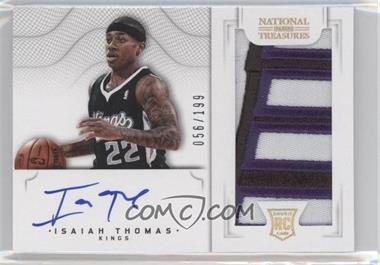 2012-13 Panini National Treasures - [Base] #132 - Group I Rookies 2011 Rookies - Isaiah Thomas /199