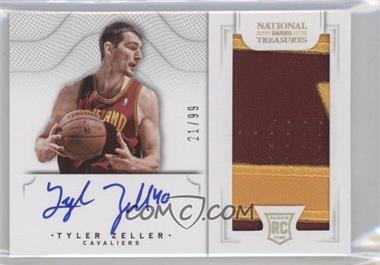 2012-13 Panini National Treasures - [Base] #167 - Group II Rookies 2012 Rookies - Tyler Zeller /99