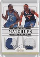 Carmelo Anthony, Kevin Durant /25