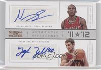 Nolan Smith, Tyler Zeller /99