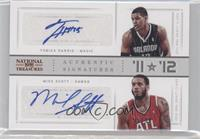 Mike Scott, Tobias Harris /99