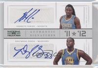 Draymond Green, Kenneth Faried /10
