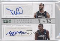 Derrick Williams, Michael Kidd-Gilchrist /10