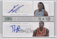 Kenneth Faried, Thomas Robinson /10