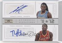 Kenneth Faried, Thomas Robinson /25