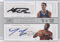 Klay Thompson, Terrence Ross /25