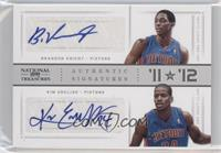 Brandon Knight, Kim English /49