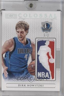 2012-13 Panini National Treasures Colossal NBA Logoman #3 - Dirk Nowitzki /2 [Near Mint‑Mint]