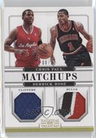 Chris Paul, Derrick Rose /10