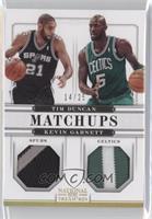 Kevin Garnett, Tim Duncan /25