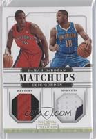 DeMar DeRozan, Eric Gordon /25