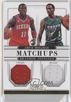 Brandon Jennings, Jrue Holiday /99