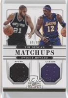 Dwight Howard, Tim Duncan /99