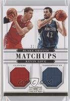 Blake Griffin, Kevin Love /49