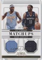 Ty Lawson, Mike Conley /99
