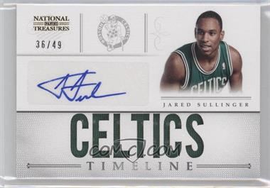 2012-13 Panini National Treasures Timeline Team Name Autograph [Autographed] #11 - Jared Sullinger /49