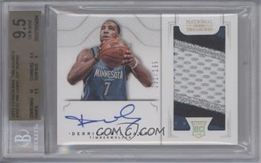2012-13 Panini National Treasures #102 - Group I Rookies 2011 Rookies - Derrick Williams /199 [BGS 9.5]