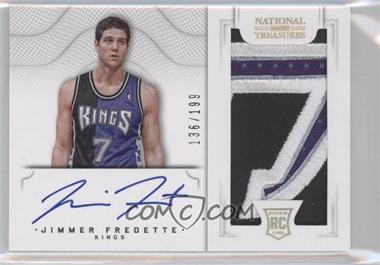 2012-13 Panini National Treasures #109 - Group I Rookies 2011 Rookies - Jimmer Fredette /199