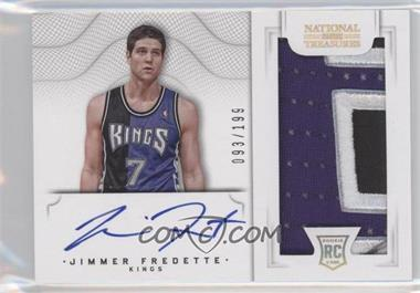 2012-13 Panini National Treasures #109 - Jimmer Fredette /199