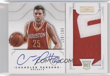 2012-13 Panini National Treasures #129 - Chandler Parsons /199