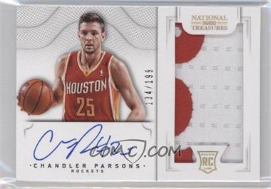 2012-13 Panini National Treasures #129 - Group I Rookies 2011 Rookies - Chandler Parsons /199