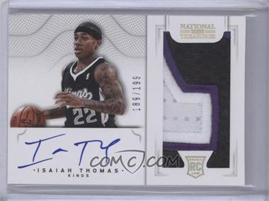 2012-13 Panini National Treasures #132 - Group I Rookies 2011 Rookies - Isaiah Thomas /199